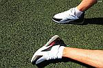 Мужские кроссовки Nike Air Max 270 (бело-мятные) D14, фото 9
