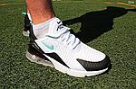 Мужские кроссовки Nike Air Max 270 (бело-мятные) D14, фото 8