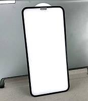 Apple iPhone X, XS, 11 Pro защитное стекло на телефон противоударное 5D Black черное
