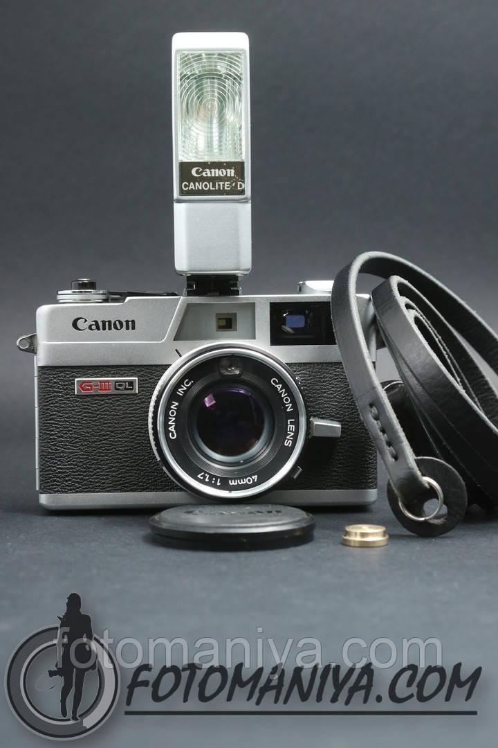 Canon Canonet Ql17 G-III + Canolite D