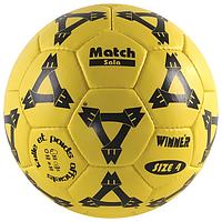 Мяч футбольный Winner MATCH-SALA №4, PU, желтый (ФС W-MATCH-SALA)