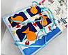 Именная детская Развивающая Mягкая Книжка из Фетра, фото 6