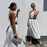 Женское платье с завязкой на шее (в расцветках), фото 8