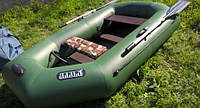 Надувная гребная лодка Ладья ЛТ-310СТБ со слань-ковриком, фото 3