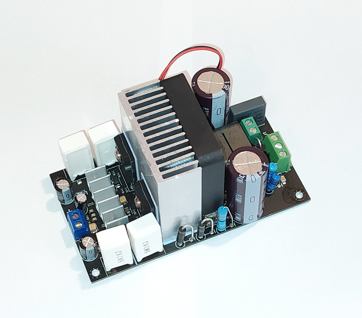 Підсилювач звуку 1000 Вт 1 кВт IRS2092S + RIFP4227*2 /1653
