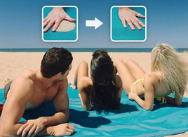 Анти-песок пляжная чудо-подстилка 200×200
