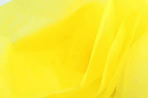 Папір тишью насичено-жовтий 50 см * 75 см