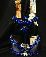 Свадебная корзинка для шампанского