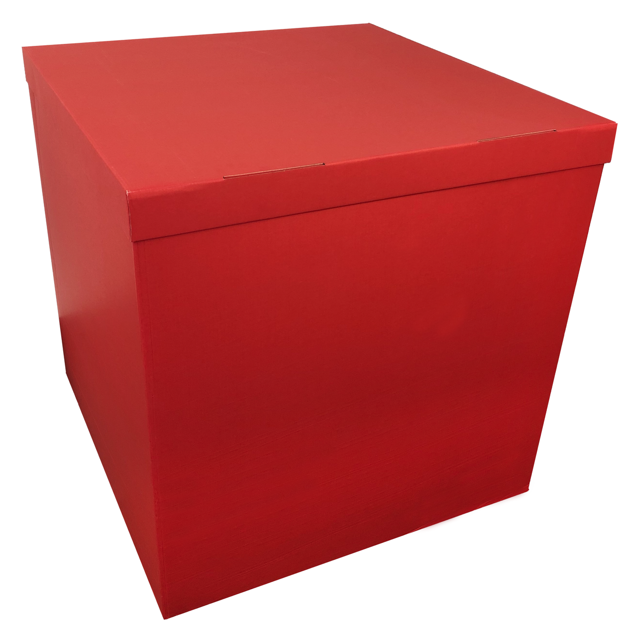 Коробка-сюрприз 70*70*70см двухсторонняя красная, 1 шт