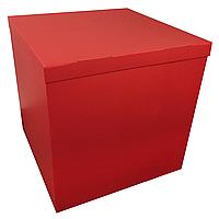 Коробка-сюрприз 70*70*70см двухсторонняя красная, 1 шт, фото 1