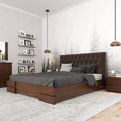 Ліжка двоспальні дерев'яні (ширина 120-180 см)