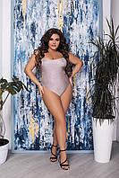 Модный женский цельный купальник больших размеров