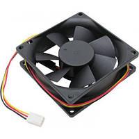 Кулер для компьютера Titan 80мм Черный 8025M12B, КОД: 1255364