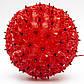 Светодиодная декорация - светящийся шар, 18 см, 100л, красный, IP44 (050475), фото 2