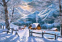 Пазлы Снежное утро на 1500 элементов