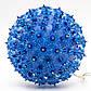 Светодиодная гирлянда висящий шар 18см 100Л голубая (050482), фото 2