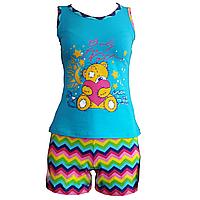 Летняя пижама с шортами размер 42-52