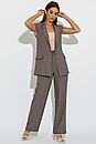 Брючний костюм з жилетом А-307 (4 кольори), фото 9