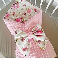 Одеяло плюшевое теплое для малыша