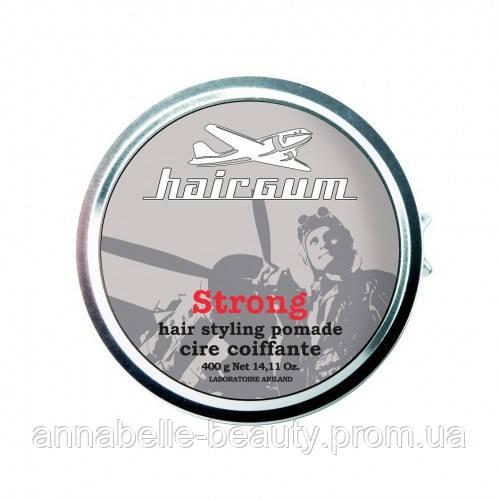 Помада для стайлинга с ароматом меда - Hairgum Strong Hair Styling Pomade 40 гр.