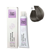 Крем-фарба для волосся Tiare Color 60 мл 7.1 Ash blonde