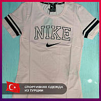 Женская футболка Nike розовый. Жіноча футболка Nike рожевий.