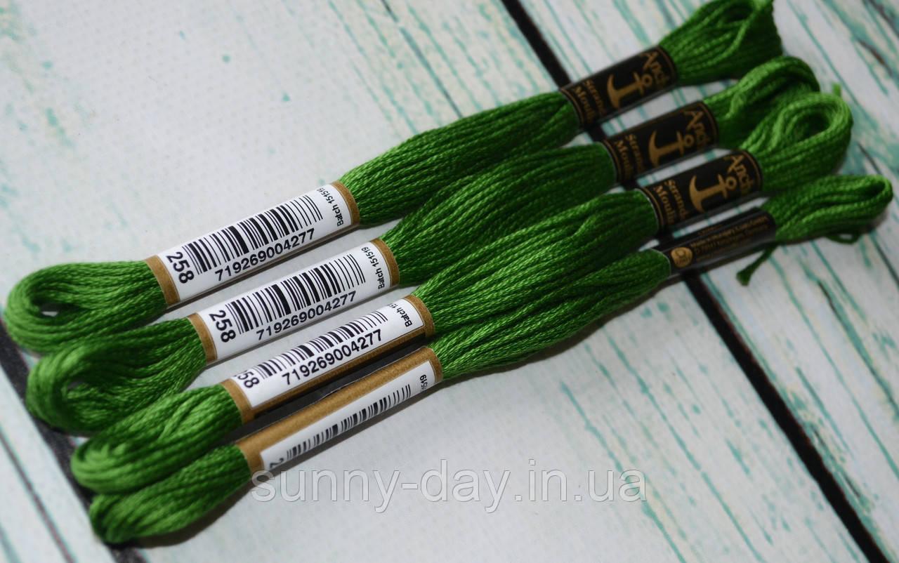 Мулине Anchor, цвет 0258