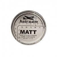 Матовая помада для укладки волос с ароматом лакрицы - Hairgum Matt Wax Hair Styling Pomade 40 гр.