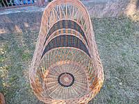 Кресло плетенное из лозы