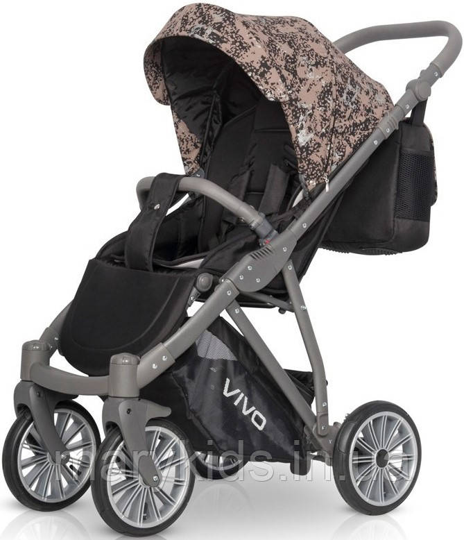 Дитяча універсальна прогулянкова коляска Riko Vivo 02