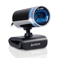Веб-камера A4Tech PK-910H, Black/Silver, 2 Mp, 1920x1080/30 fps, USB 2.0, встроенный микрофон