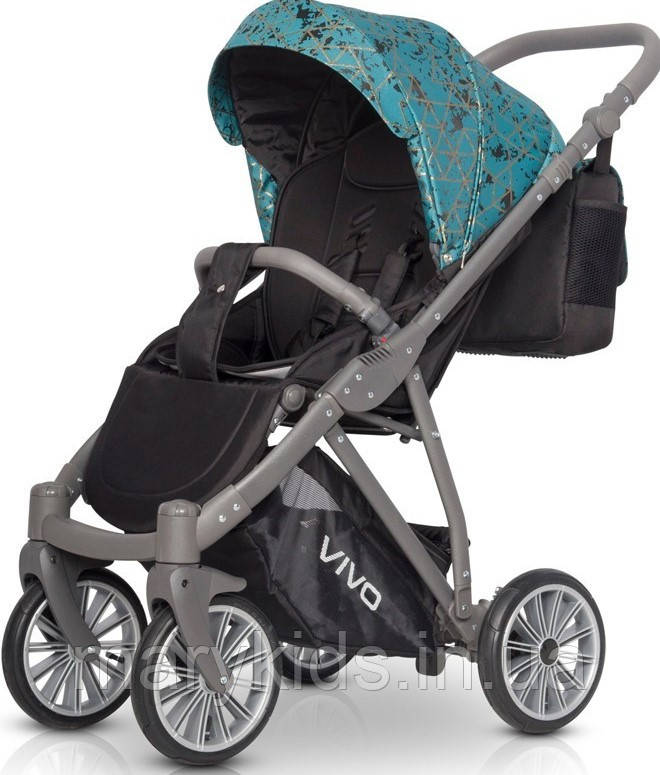 Детская универсальная прогулочная коляска Riko Vivo 04