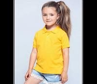 Детская футболка-поло JHK KID POLO цвет розовый (PK)