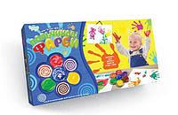 Пальчиковые краски Danko Toys Мое первое творчество 4 Цвета Разноцветный 6785DT, КОД: 1332125