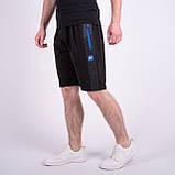 Чоловічі трикотажні шорти Nike, темно-синього кольору., фото 4