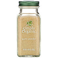 """Чесночный порошок Simply Organic """"Garlic Powder"""" натуральный (103 г)"""