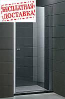 Душевые двери правосторонние PARADISO 100х185 P2151S-R (ice engraving) AK