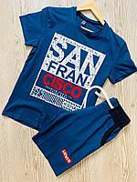 Летний комплект футболка шорты