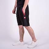 Чоловічі трикотажні шорти Nike, чорного кольору., фото 5