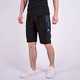 Чоловічі трикотажні шорти Nike, чорного кольору., фото 2