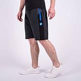 Чоловічі трикотажні шорти Nike, чорного кольору., фото 4