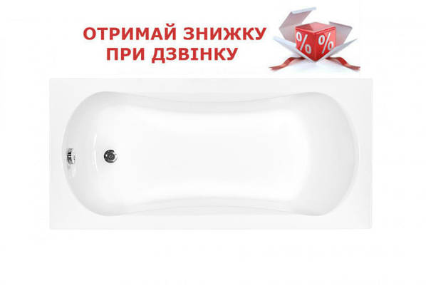 Ванна акриловая Besco Aria, фото 2