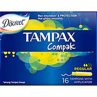 Тампони ТМ Тампакс / Compak Regular №16
