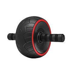 Колесо для мышц пресса Dobetters DBT-JL03 Red + Black с возвратным механизмом изогнутыми ручками