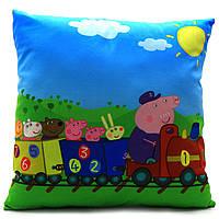 Подушка детская KinderToys «Свинка Пеппа» 43х43х10 см (24970-1)