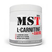 Жиросжигатель MST L-Carnitine + Amino, 300 грамм Лимон-лайм