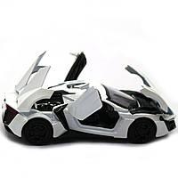 Машинка ігрова автопром «Lykan Hypersport» Біла, 14 см (32013), фото 7