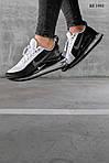 Чоловічі кросівки Nike Air Max 720 (чорно/білі) KS 1493, фото 2