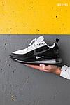 Мужские кроссовки Nike Air Max 720 (черно/белые) KS 1493, фото 3