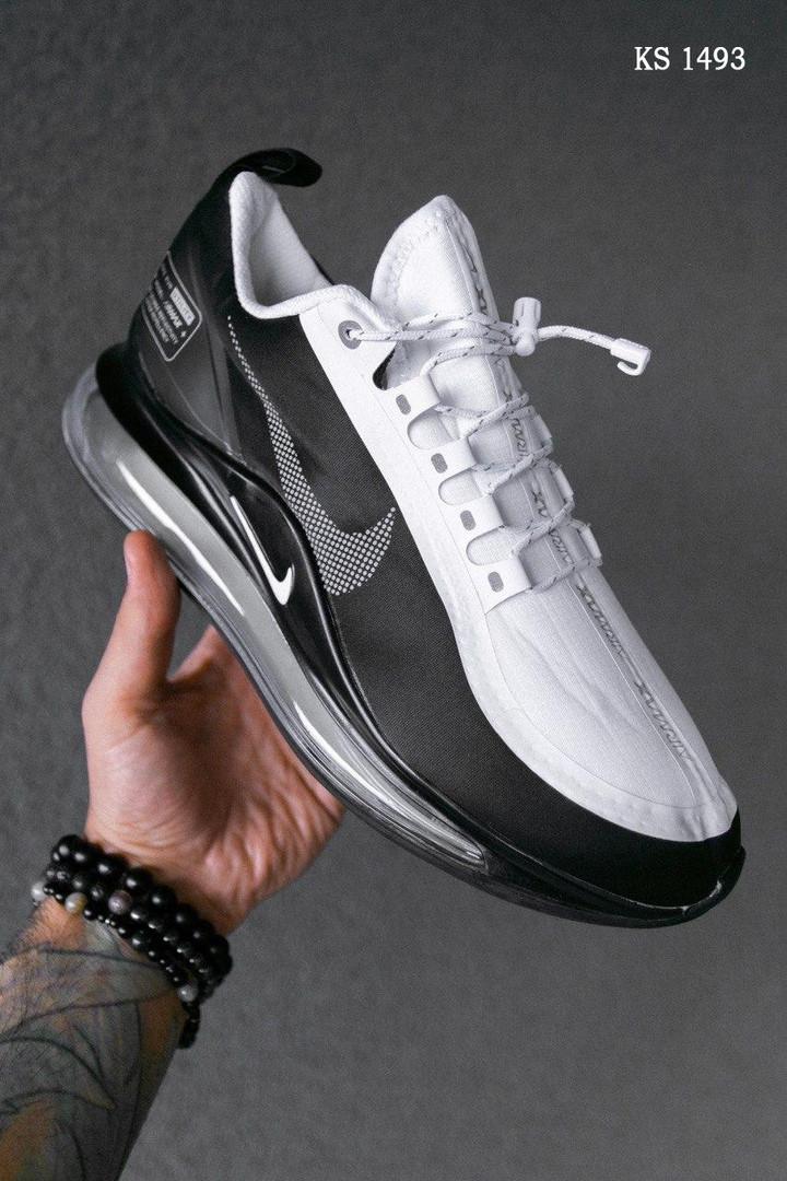 Чоловічі кросівки Nike Air Max 720 (чорно/білі) KS 1493